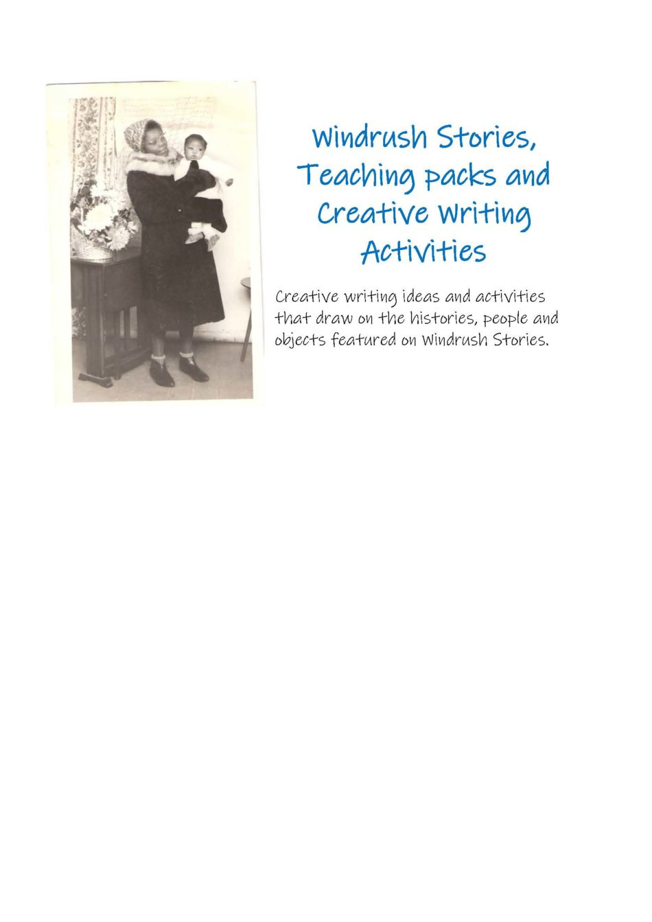 creative writing ideas and activities